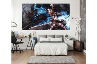 3D Attack On Titan 433 Anime Wall Stickers Self-adhesive Vinyl, 80cm x 80cm(31.5'' x 31.5'') (WxH)