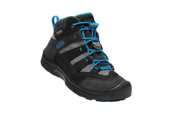 Keen Hikeport Mid WP Youth Black Blue Jewel - 1