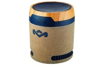 House of Marley Navy Chant BT Handsfree Portable Wireless Speaker MIC Bluetooth