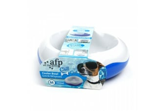 Chill Out Cooler Pet Bowl - Medium 15cm (All For Paws)