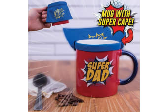 Super Dad Mug With Removable Cape!