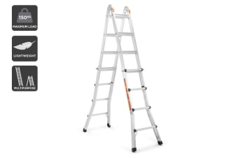 Certa 4.49m Ultimate Multipurpose Aluminium Foldable Telescopic Ladder