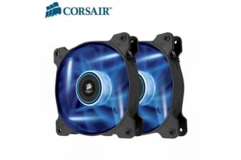 Corsair SP 120mm Fan with Blue  LED High Static Pressure. Twin Pack!