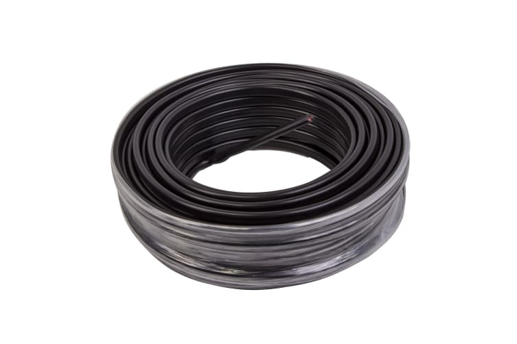 2 CORE 4MM x 12 METRES CABLE WIRE WIRING AUTOMOTIVE TRAILER CARAVAN TRUCK OWL