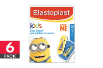 96 Elastoplast Minions Character Strips (6 x 16 Pack)