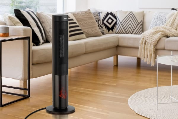Kogan 2000W Flame Effect Tower Heater