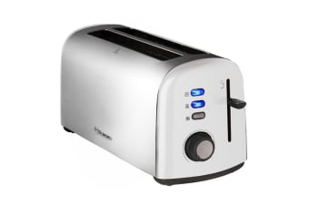 Westinghouse 4 Slice Long Slot Toaster - Pearl White