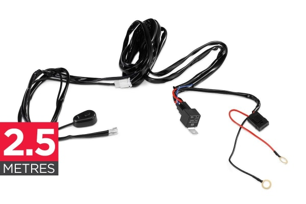 Certa LED Light Bar Wiring Loom Switch Kit