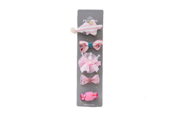 Handmade Baby Princess Hairpin Children'S Headdress Hairpin 5 Sets
