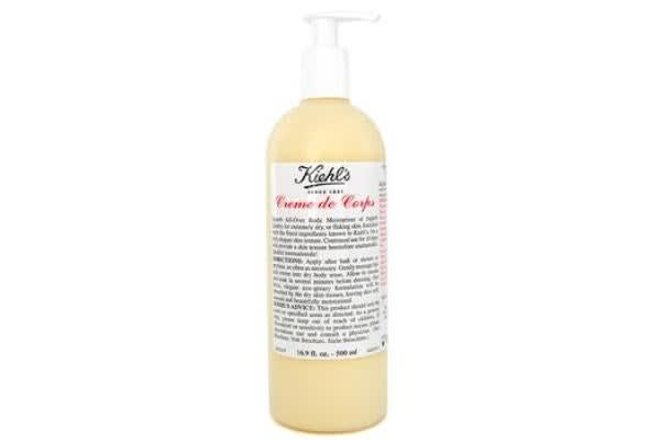 Kiehl's Creme De Corps Body Moisturizer with Pump (500ml/16.9oz)