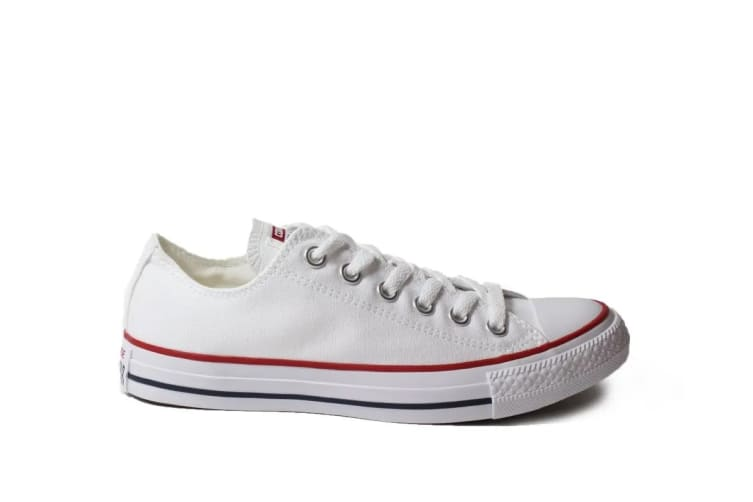 Converse Chuck Taylor All Star Ox Lo (Optical White, US Mens 9.5 US Womens 11.5)
