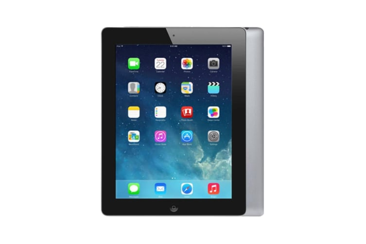 Apple iPad 4 Wi-Fi + Cellular 16GB Black (Good Grade)