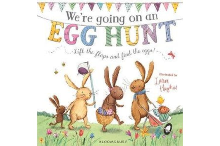 We're Going on an Egg Hunt - Board Book