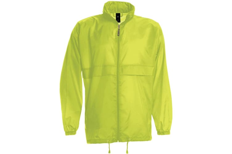 B&C Sirocco Mens Lightweight Jacket / Mens Outer Jackets (Ultra Yellow) (M)