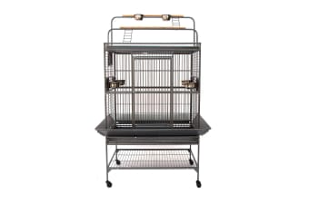Flyline Grey Palace Play Top Bird Cage Parrot Aviary Large
