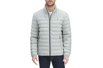 Tommy Hilfiger Men's Ultra Loft Packable Down Jacket (Stone)