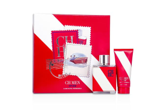 Carolina Herrera CH Sport Coffret: EDT Spray 100ml/3.4oz + After Shave Balm 100ml/3.4oz 2pcs
