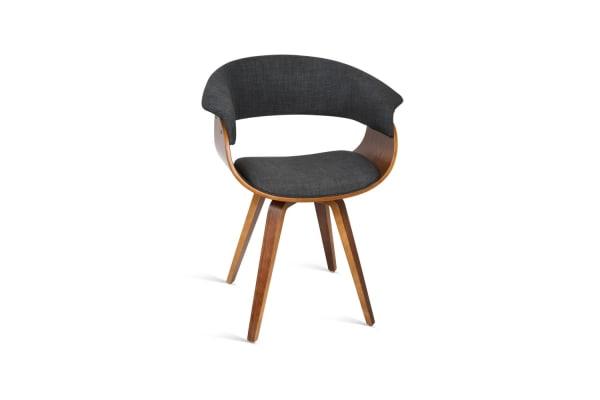 Modern Dining Chair (Charcoal)