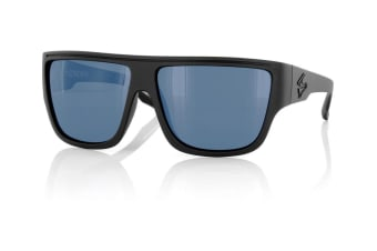Carve Crew Matt Black Polarized Mens Sunglasses