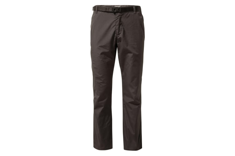 Craghoppers Mens Boulder Trousers (Black Pepper) (30S)