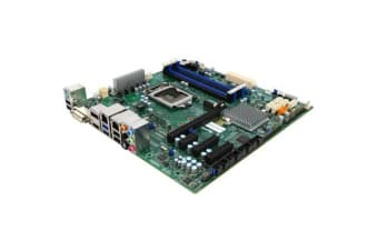 Supermicro X11SSQ Desktop Board mATX