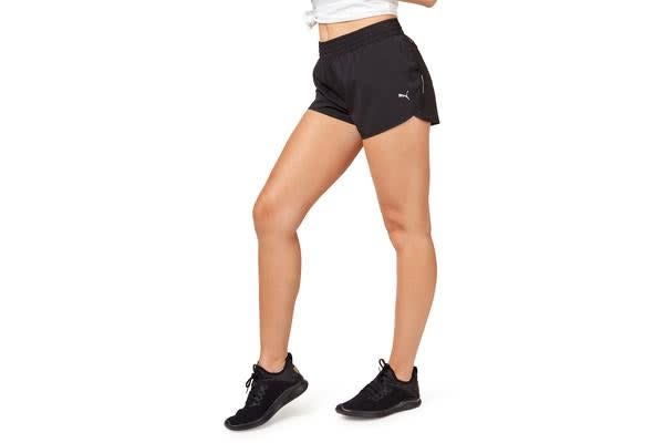 "Puma Women's Core-Run 3"" Shorts (Black, Size M)"