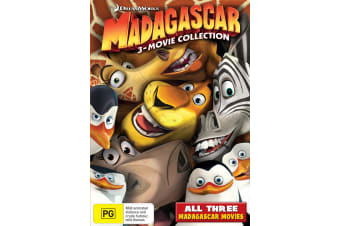 Madagascar The Complete Collection Box Set DVD Region 4