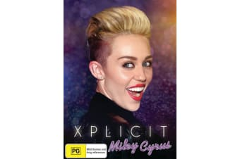 Miley Cyrus Xplicit DVD Region 4