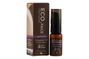 Eco Modern Essentials Face Oil Certified Organic Coconut 15ml