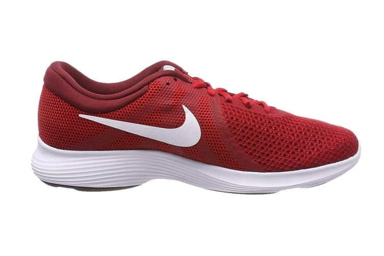 Nike Revolution 4 (Gym Red/White, Size 6.5Y US)