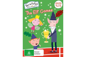 Ben and Hollys Little Kingdom The Elf Games DVD Region 4