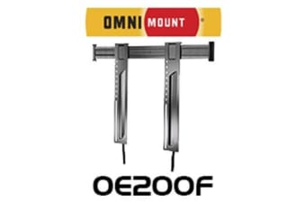 "Omnimount 52"" - 90"" LARGE FIXED PANEL DISPLAYBRACKET BLACK 90KG MAX, 400X600"