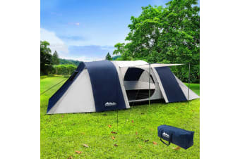 Camping Tent 12 Person Hiking Beach Tents Canvas Swag Family Awning