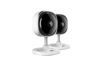 UL-TECH 1080P X2 Wireless IP Eye Camera CCTV Security System Baby Monitor White