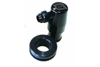 """Aeroflow Billet PCV Valve Suits 1-1/4"""" Holes In Cover -6AN Male"""