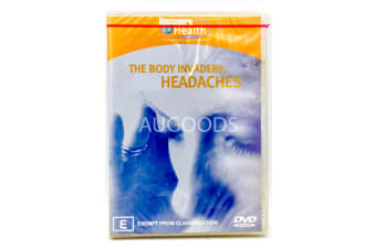 The Body Invaders : Headaches -Educational Series Rare- Aus Stock DVD NEW