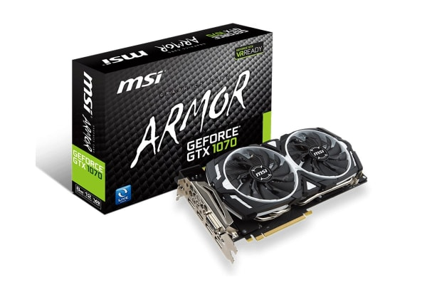 MSI GeForce GTX 1070 Armor 8GB