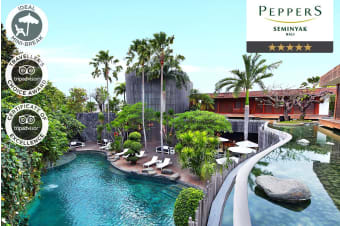 SEMINYAK: 5 or 7 Nights at Peppers Seminyak in a Three Bedroom Pool Villa