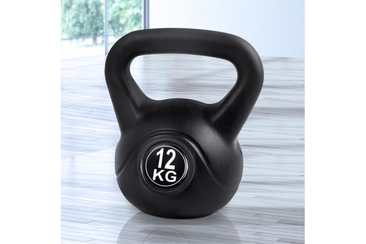 Everfit 12KG Kettlebell Kettle Bell Kit Set Weights Fitness Exercise Home Gym