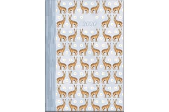 Wild Hares - 2020 Diary Planner A5 Padded Cover by The Gifted Stationery