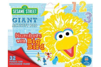 Sesame Street - Numbers with Big Bird Giant Activity Pad