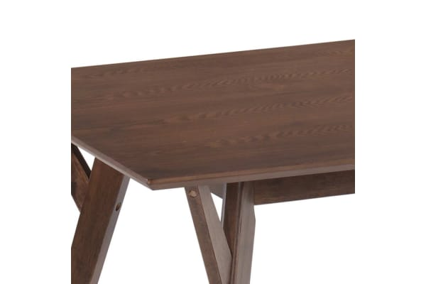 6 Seater Wood Timber Dining Table (Walnut)