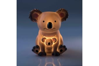 Mini Koala LED Night Light Warm Glow Cute Baby Shower Nursery Gift