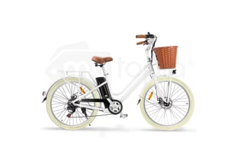 Nishiro ebike 36V Electric Bike Vintage Ladies Battery Pedelec Bicycle 250W 26 Inch