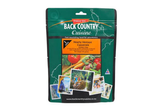 Back Country Cuisine Hearty Venison Casserole