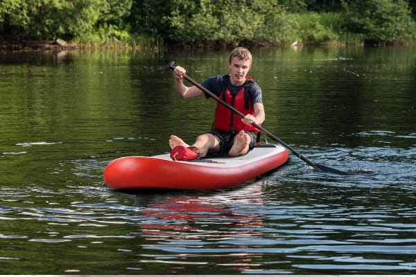Komodo 2-in-1 Inflatable Stand Up Paddle Board