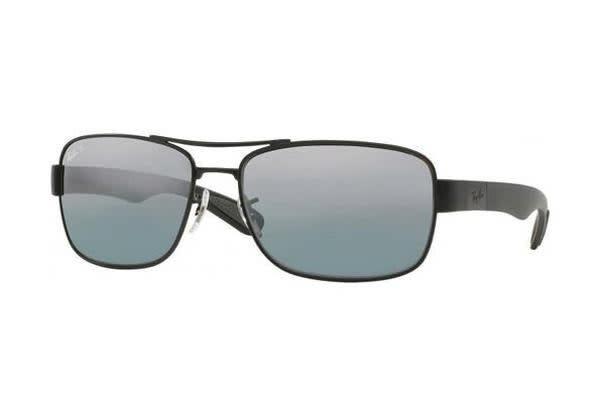 1f204492e4 Ray-Ban RB3528 - Black Matte (Grey Mirror Polarised lens)   58--17--145  Mens Sunglasses - Kogan.com