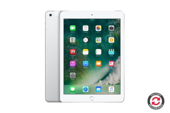 Apple iPad 2017 Refurbished (32GB, Cellular, Silver) - A Grade