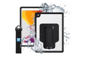 "Armor-X (MXS Series) Tablet Case - IP68 Waterproof & Shockproof for iPad 10.2"" (7th Gen)  with  Hand"