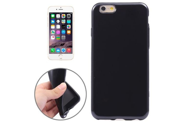 For iPhone 6S PLUS 6 PLUS Case  High-Quality Shielding Cover Jet Black